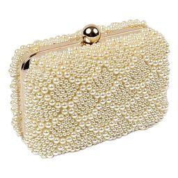 Amrita Singh Women's Handbags Pearl - Faux Pearl Leron Clutch | Zulily