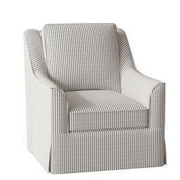 Bella 30'' Wide Swivel Armchair | Wayfair North America
