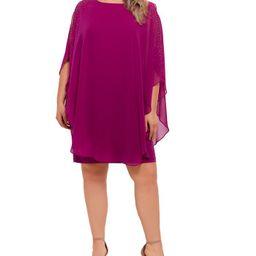 Plus Size Chiffon Shift Dress | Macys (US)