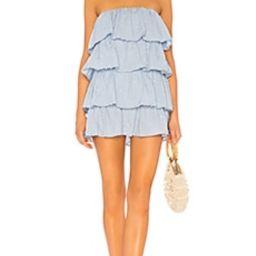 Tularosa Finley Dress in Light Blue from Revolve.com | Revolve Clothing (Global)