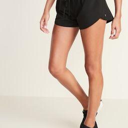 Dolphin-Hem Run Shorts for Women -- 3-inch inseam | Old Navy (US)