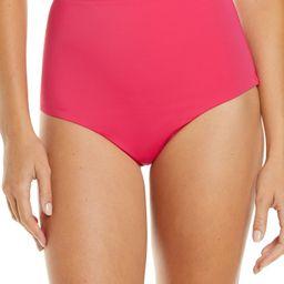 Scallop High Waist Bikini Bottoms   Nordstrom