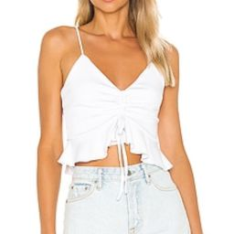 Lovers + Friends Sherrie Top in White from Revolve.com | Revolve Clothing (Global)
