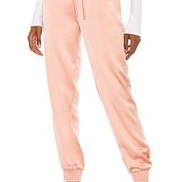NBD Mallerie Jogger in Blush Nude from Revolve.com | Revolve Clothing (Global)