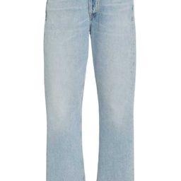 Charlotte Cropped Rigid High-Rise Straight Jeans | Moda Operandi (Global)