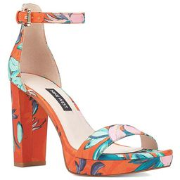 Nine West Women's Sandals XOR20 - Coral & Turquoise Dempsey Ankle-Strap Sandal - Women   Zulily