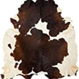 Brindle Cowhide Rug Cow Hide Skin Leather Area Rug XL   Amazon (US)