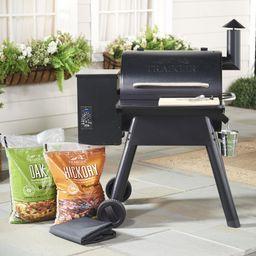 Traeger Prairie 572 sq. in. Wood Fired Grill & Smoker w/ Accessories   QVC