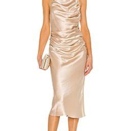 Amanda Uprichard X REVOLVE Georgina Dress in Bone from Revolve.com | Revolve Clothing (Global)
