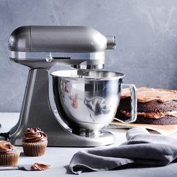KitchenAid® Artisan Mini Stand Mixer with Flex Edge Beater, 3-QT   Williams-Sonoma