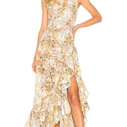 Bronx and Banco Sicilia Ruffle Dress in Multi from Revolve.com | Revolve Clothing (Global)