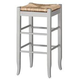 Rush Seat Hardwood Barstool White - Boraam | Target