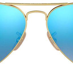 Ray-Ban Rb3025 Classic Mirrored Aviator Sunglasses   Amazon (US)