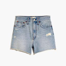 The Momjean Short in Byers Wash: Ripped Edition | Madewell