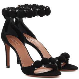 Bombe studded suede sandals | Mytheresa (US)