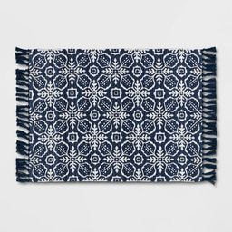 2'x3' Indoor/Outdoor Blue Tile Scatter Blue - Opalhouse™ | Target