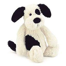 Jellycat Bashful Black and Cream Puppy Stuffed Animal, Medium, 12 inches | Amazon (US)