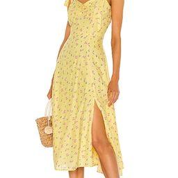 Midi Bow Tie Dress | Revolve Clothing (Global)