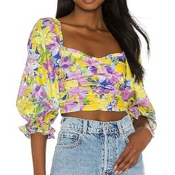 Cassia Crop Top   Revolve Clothing (Global)
