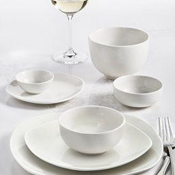Whiteware 42-PC. Dinnerware Set, Service for 6, Created for Macy's | Macys (US)