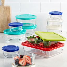 22 Piece Food Storage Container Set, Created for Macy's | Macys (US)