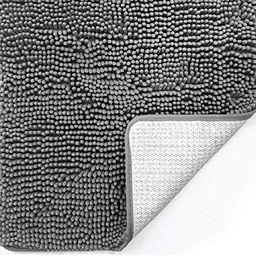 Gorilla Grip Original Luxury Chenille Bathroom Rug Mat, 30x20, Extra Soft and Absorbent Shaggy Ru...   Amazon (US)