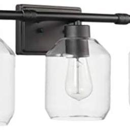 Amazon Brand – Stone & Beam Modern 5-Piece Vanity Wall Sconce Light with Bathroom Hardware Set,...   Amazon (US)