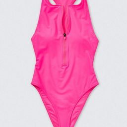 Racerback One-Piece Swimsuit | Forever 21 (US)