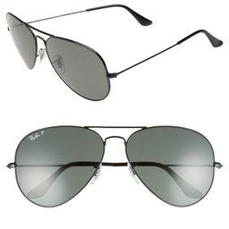 Original 62mm Polarized Aviator Sunglasses | Nordstrom