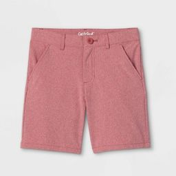 Boys' Quick Dry Chino Shorts - Cat & Jack™ Red | Target