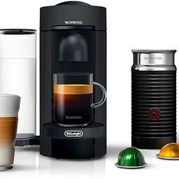 Nespresso VertuoPlus Coffee and Espresso Machine Bundle with Aeroccino Milk Frother by De'Longhi,... | Amazon (US)