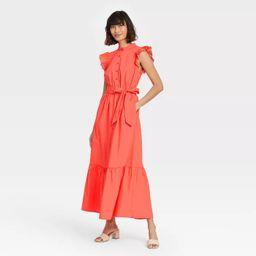 Women's Ruffle Short Sleeve A-Line Dress - Who What Wear™ | Target