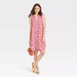 Women's Sleeveless Smocked Dress - Knox Rose™ | Target