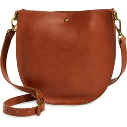 Madewell The Small Transport Leather Saddle Bag   Nordstrom   Nordstrom