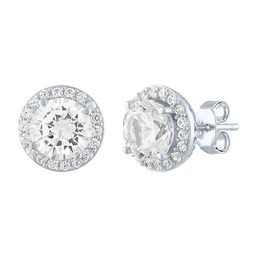 Limited Time Special!! Lab Created White Sapphire Sterling Silver 9.7mm Stud Earrings   JCPenney