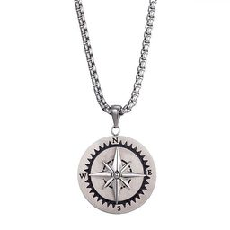 J.P. Army Men's Jewelry Stainless Steel 24 Inch Link Pendant Necklace | JCPenney