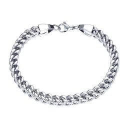 J.P. Army Men's Jewelry Stainless Steel 8 1/2 Inch Cable Chain Bracelet | JCPenney