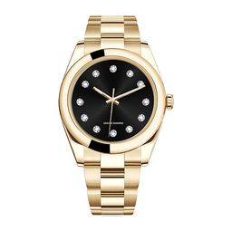 Red Bow Deal 1/10 Ct. T.W. Diamond Mens Gold Tone Bracelet Watch - 50056g-18-G27 | JCPenney