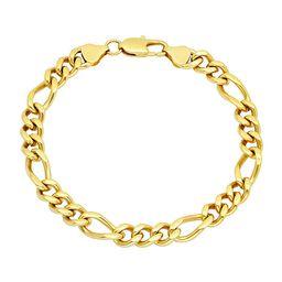 Stainless Steel 8 1/2 Inch Figaro Link Bracelet | JCPenney