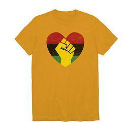 Juneteenth Mens Crew Neck Short Sleeve Graphic T-Shirt   JCPenney