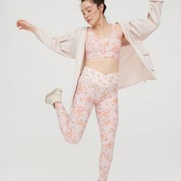 OFFLINE Real Me High Waisted Floral Crossover Legging | American Eagle Outfitters (US & CA)