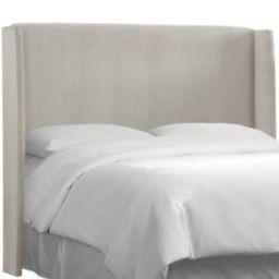 Upholstered Wingback Headboard | Wayfair North America