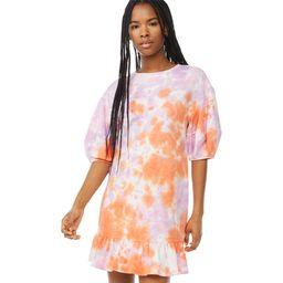 Scoop Women's Sweatshirt Dress with Ruffle Hem   Walmart (US)
