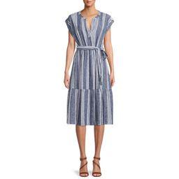 Time and Tru Tiered Dolman Sleeve Dress   Walmart (US)