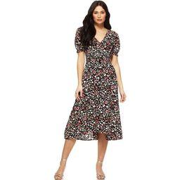 Sofia Jeans by Sofia Vergara Women's Short Sleeve Smocked Waist Midi Dress   Walmart (US)