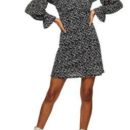 Women's Topshop Mesh Tea Dress   Nordstrom