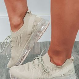 In The Lead Sneakers: Beige   Shophopes