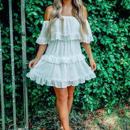 RESTOCK: Choose Me Dress: White   Shophopes