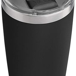 YETI Rambler 20 oz Tumbler, Stainless Steel, Vacuum Insulated with MagSlider Lid, Black   Amazon (US)