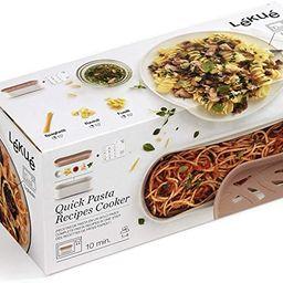 Lekue Quick microwave pasta cooker, one size, Terracotta   Amazon (US)